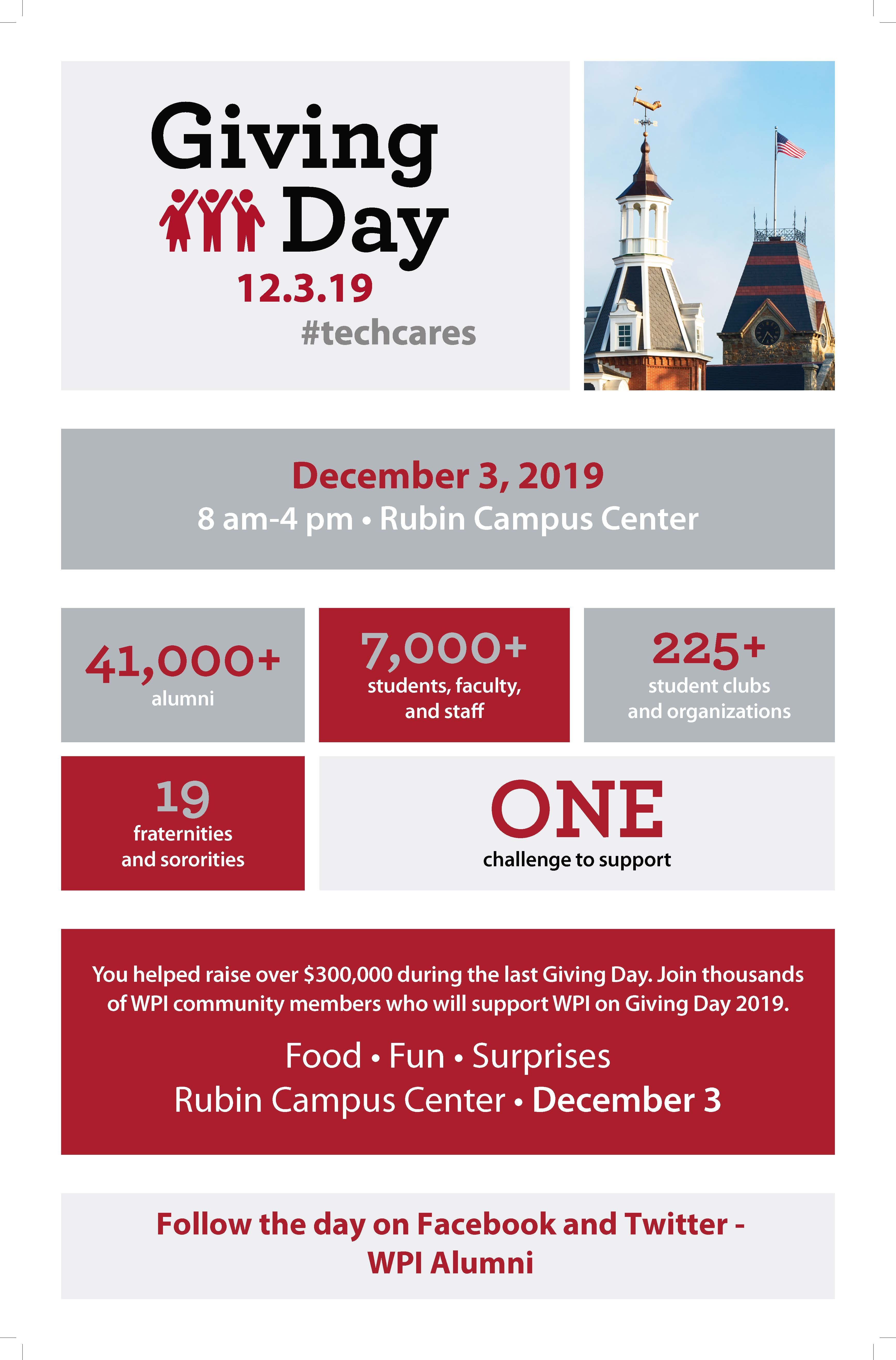 Giving Day Flyer