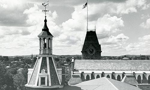 WPI Two Towers WPI History