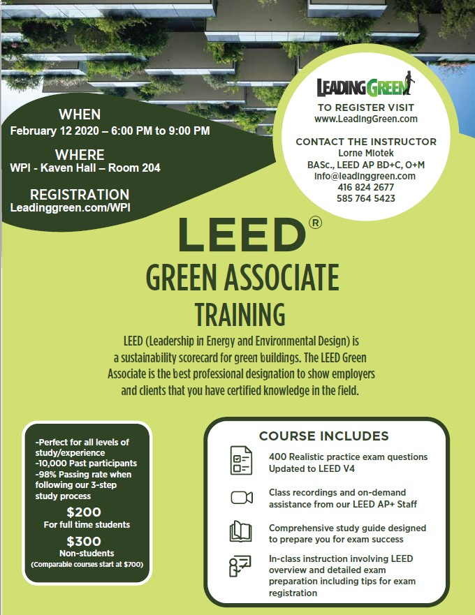 LEED Certification Poster 2020