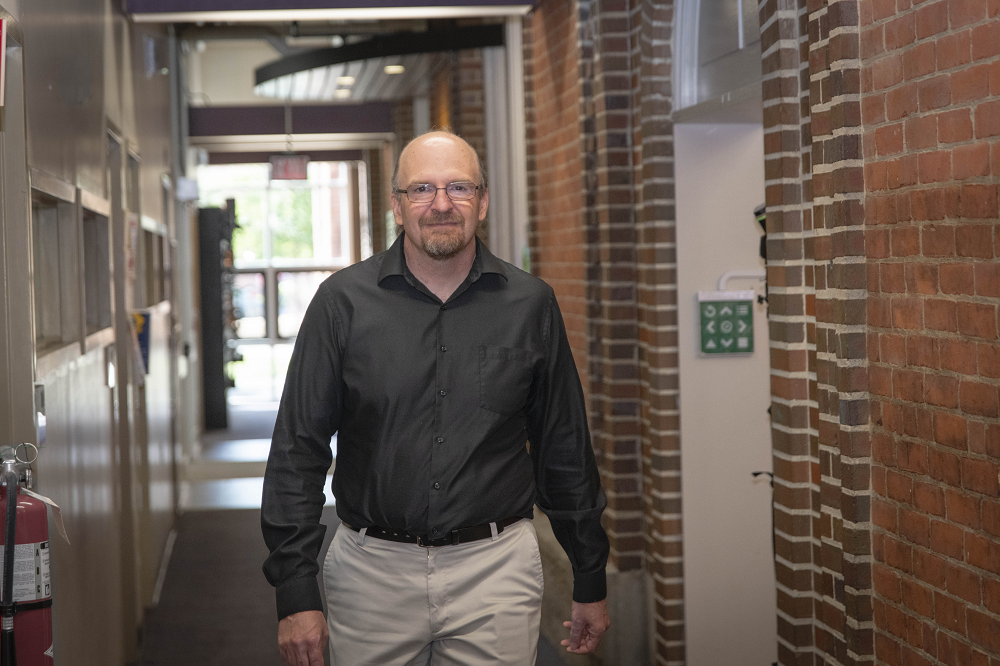 WPI mathematician Randy Paffenroth is helping the U.S. Army create a thumbnail-sized chemical sensor that can be worn on outer garments to detect dangerous chemicals more quickly.