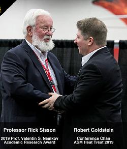 Prof. Rick Sisson, WPI