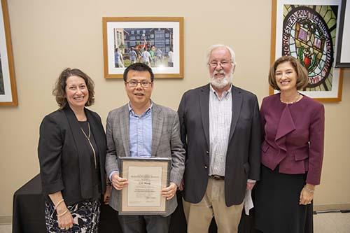 WPI faculty awards