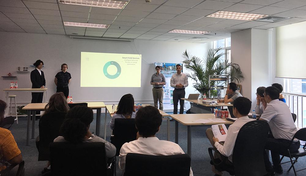 Student Presentation at Siemens China