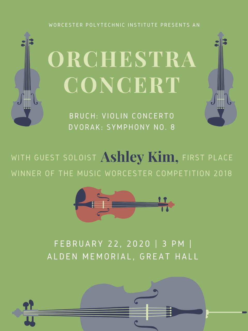 Ashley Kim, violinist