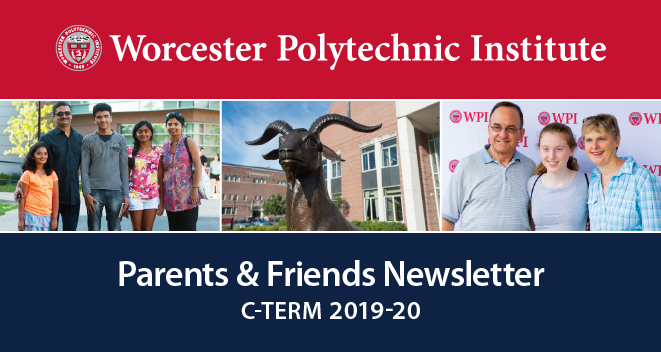 The header image of the Parents & Friends newsletter for C-Term.