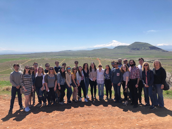WPI Students in Armenia alt