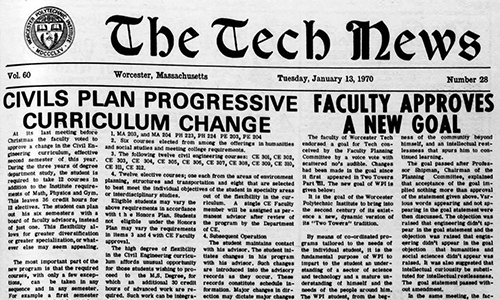 WPI Archives Student Newspapers