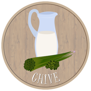 Gompei Goat Cheese - chive