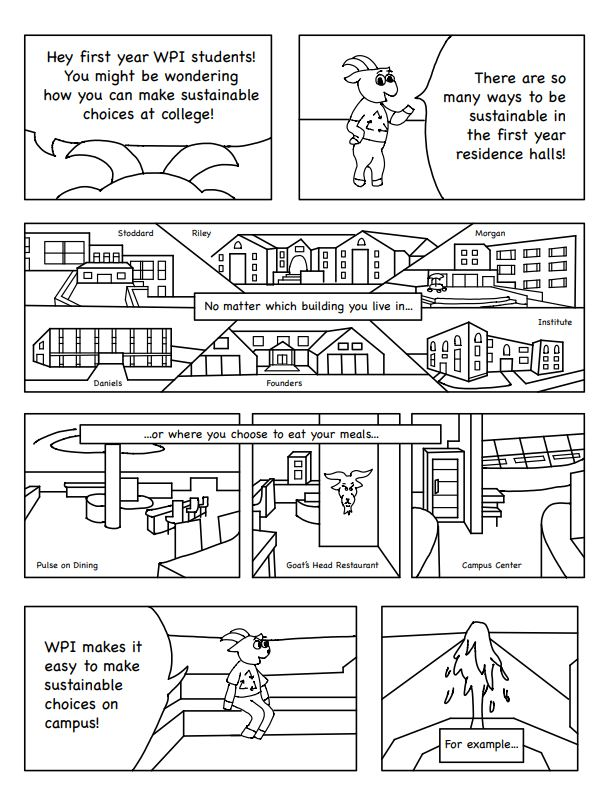 Sustainability Comic Page 1