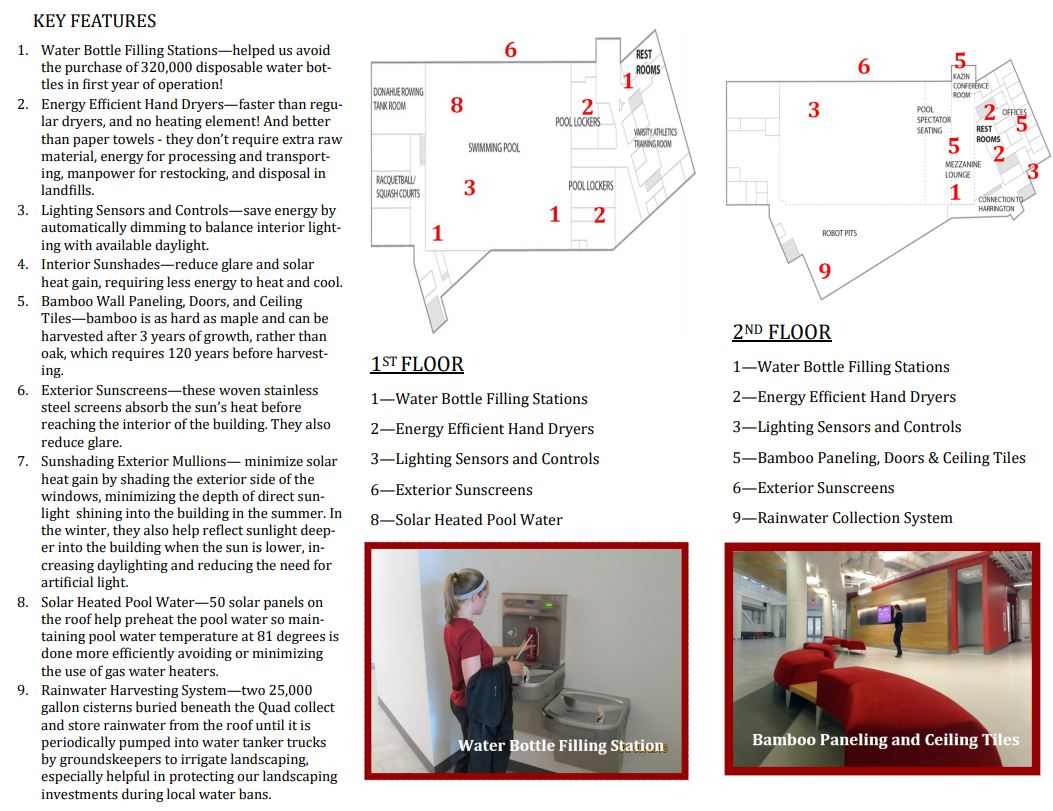 Sports and Recreation Center Tour Page 1