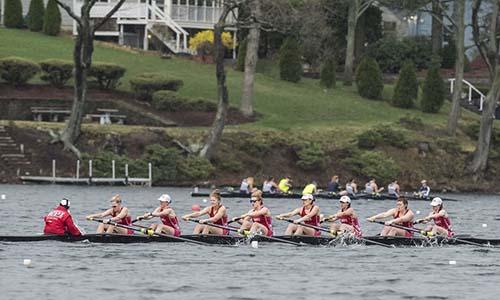 WPI rowing team
