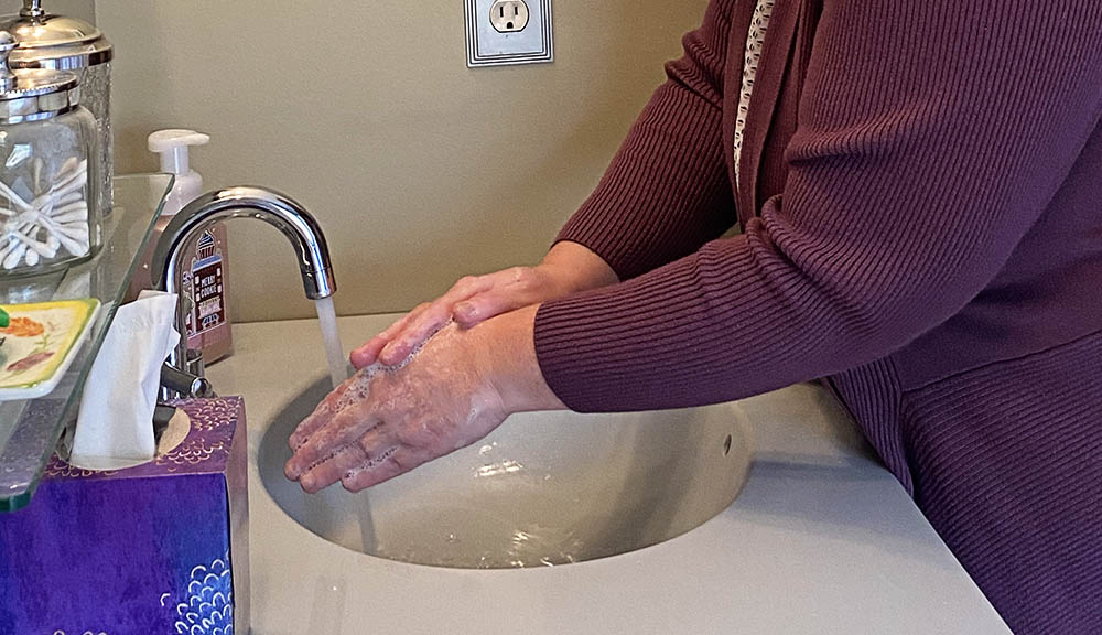 WPI's Sue Roberts says washing with simple soap and water is one of our best weapons against the coronavirus.