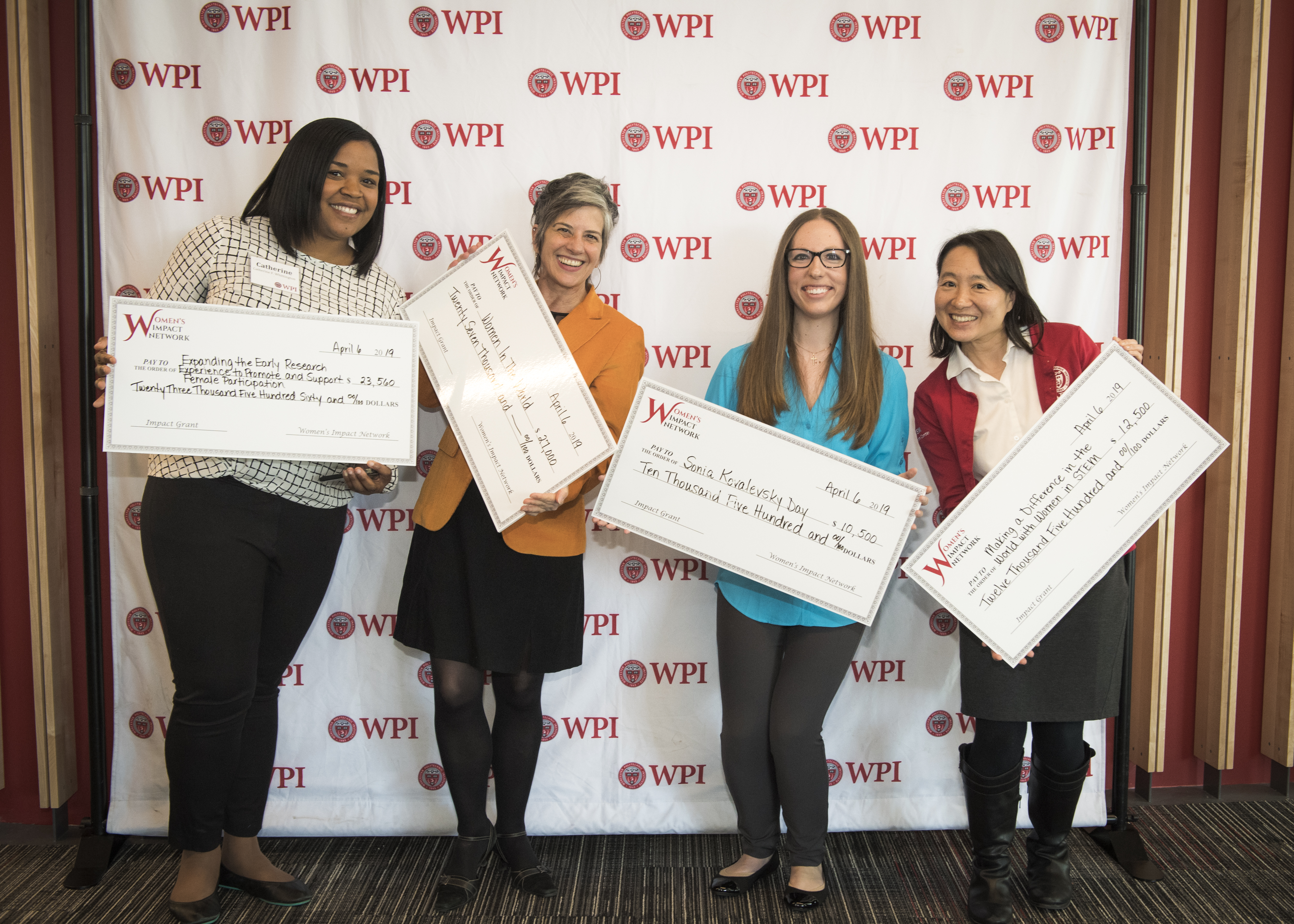 WIN grant recipients