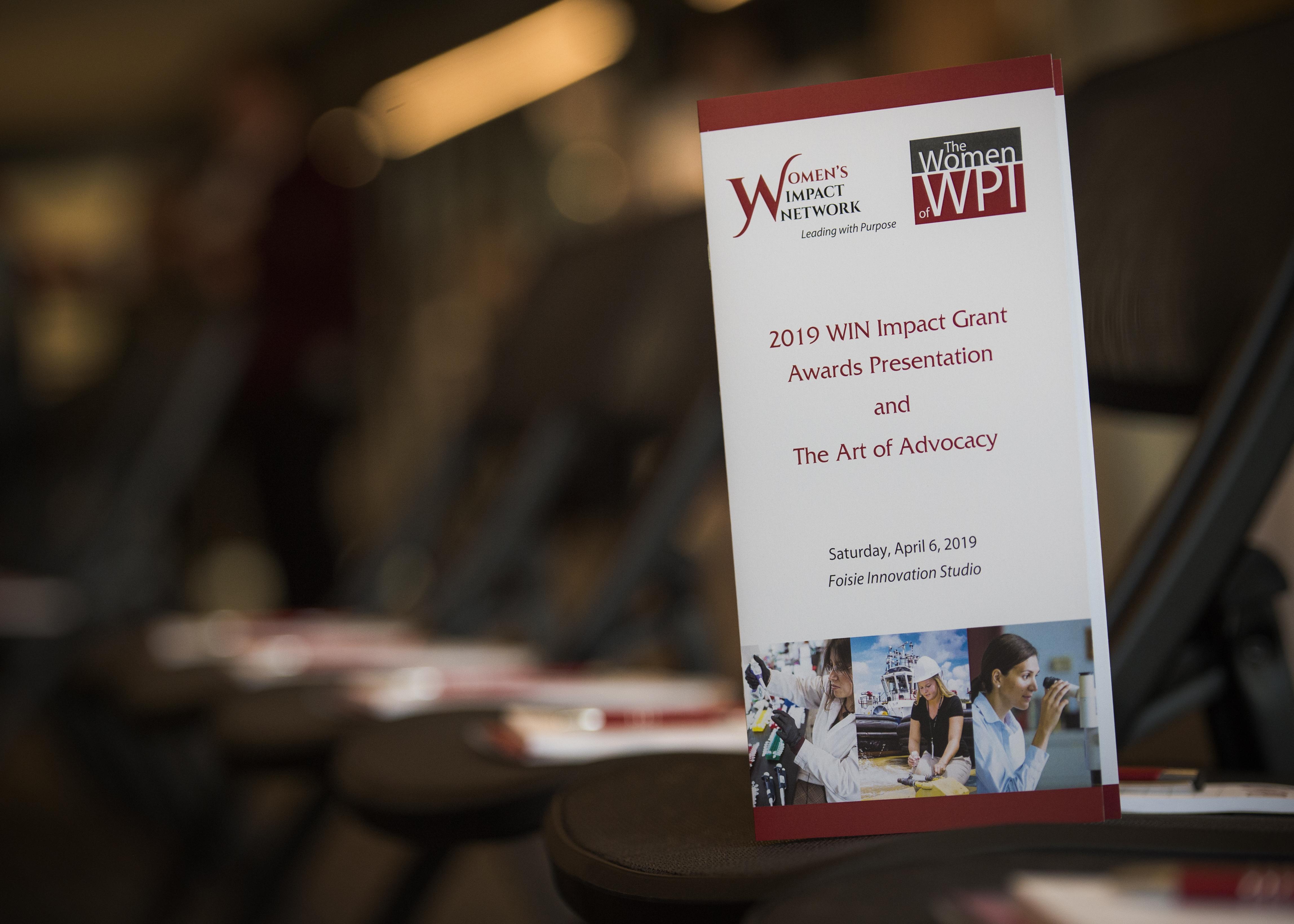 WIN program book
