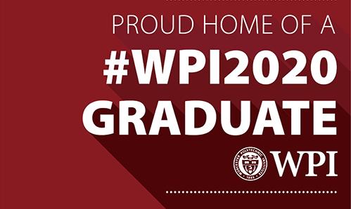 Order WPI 2020 Graduate Signs