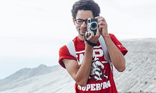 WPI student photographer