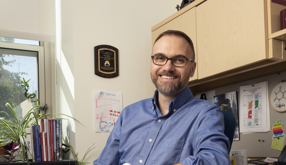Destin Heilman, Teaching Professor of Chemistry & Biochemistry