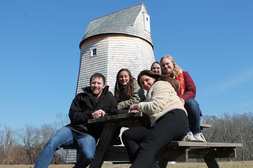 WPI MQP team designs modern wind energy system to augment windmill restoration.