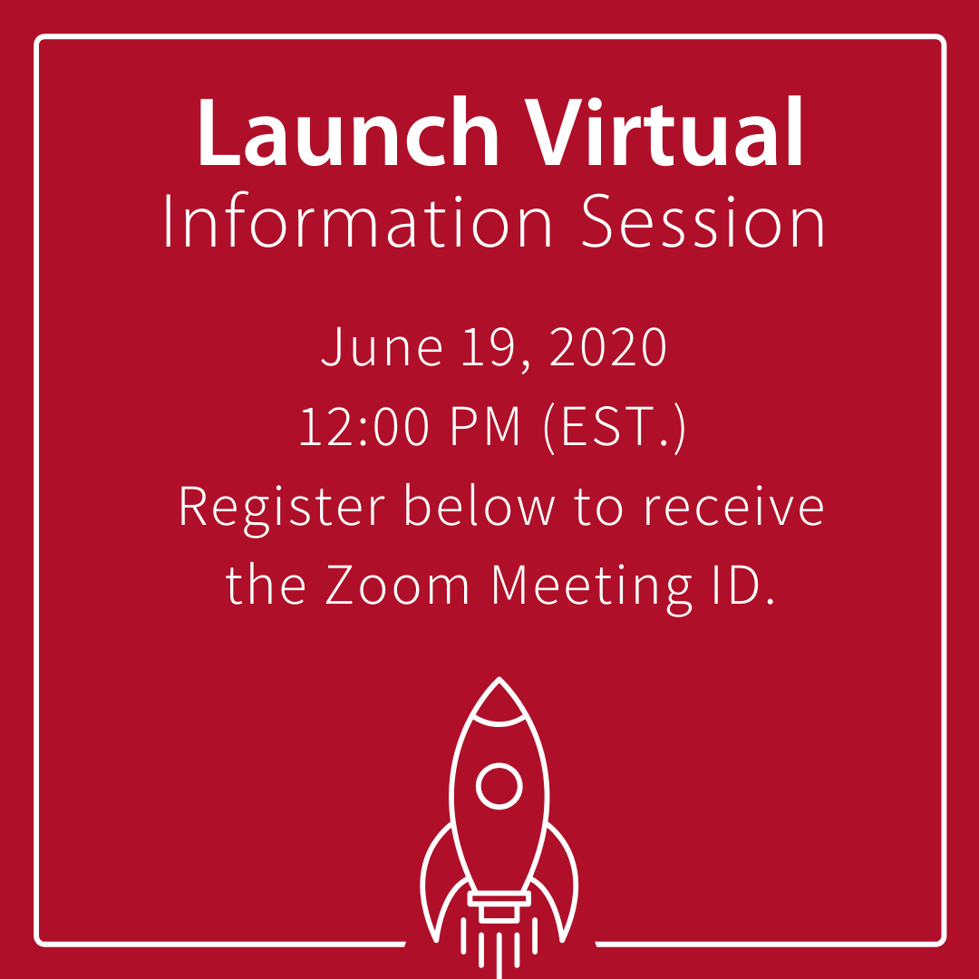 launch virtual session zoom graphic