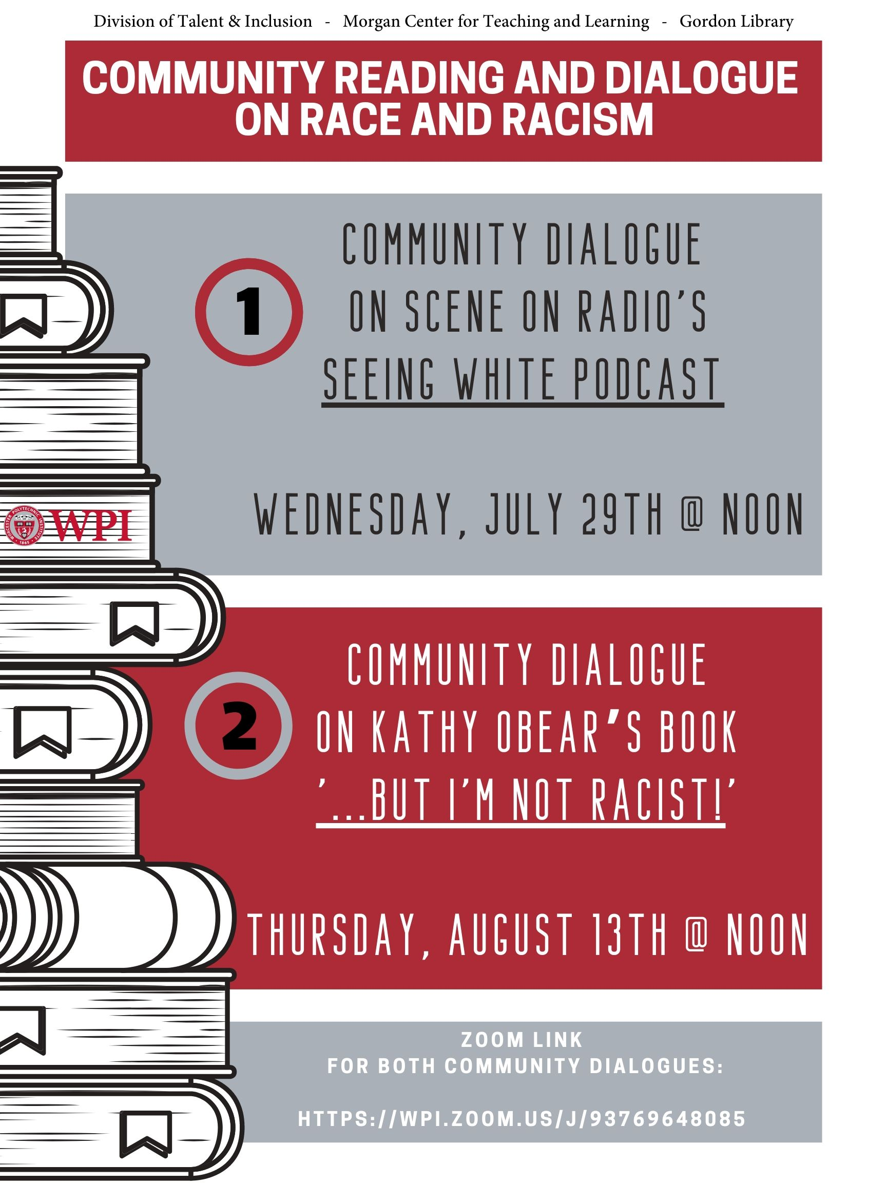 Community Reading & Dialogue on Race