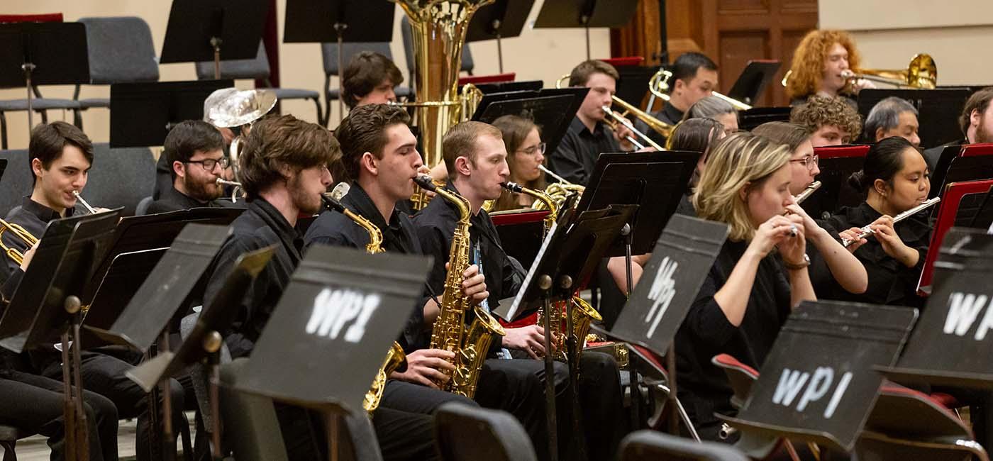 WPI concert band