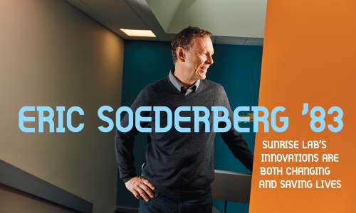 Eric Soederberg, featured alumni