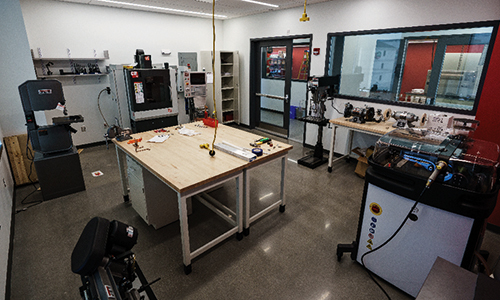 Testing Instrumentation in a Manufacturing space