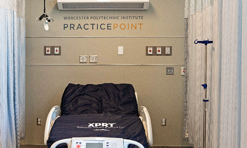 Patient Clinical Care Suites - Clinical Room with bed