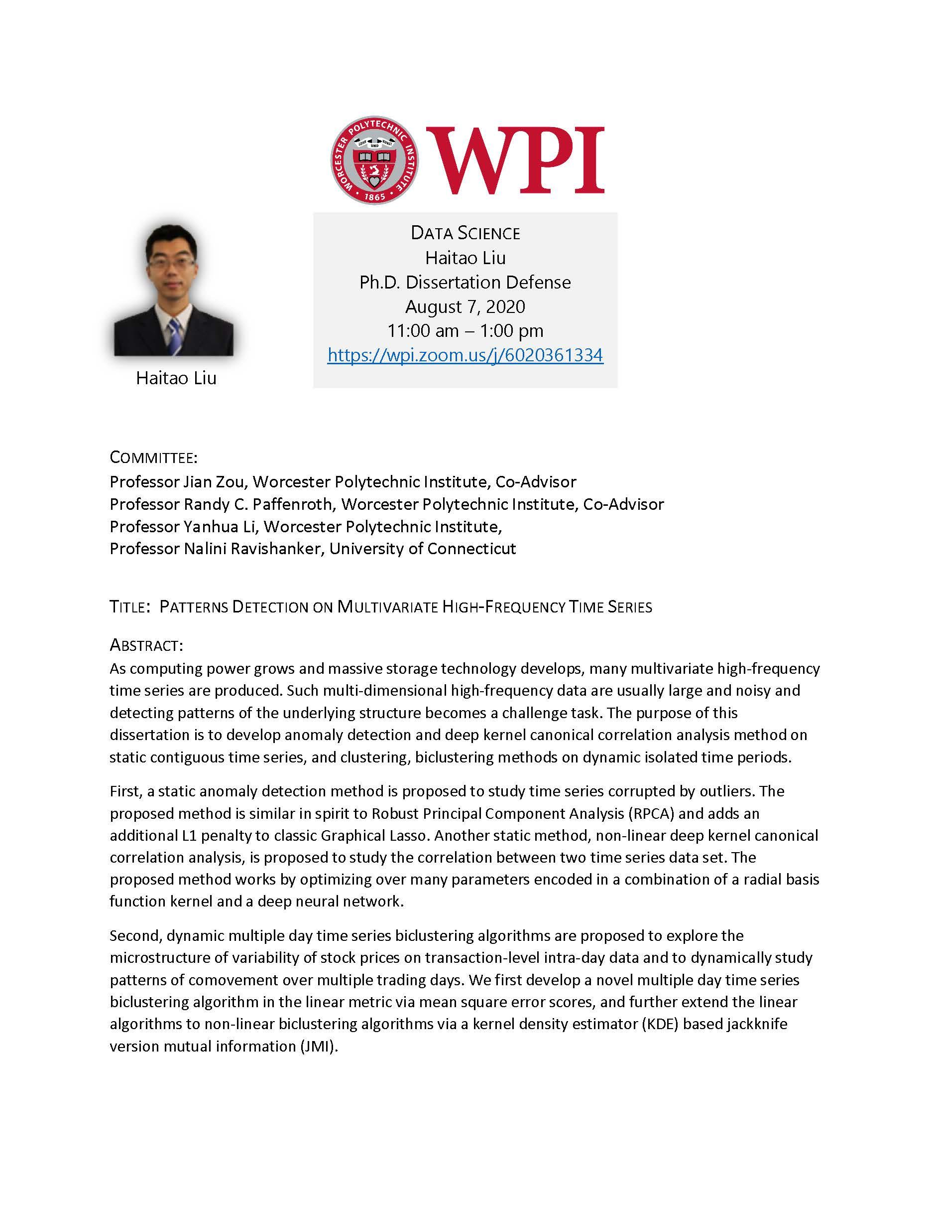 Haitao Liu dissertation defense alt