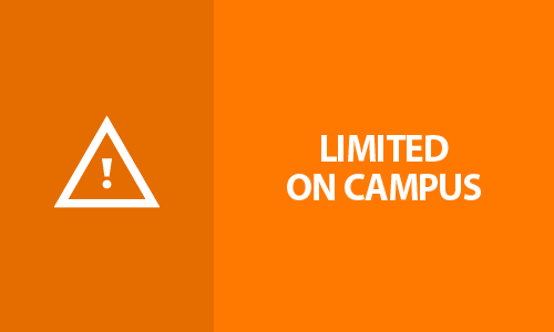 Alert Level Orange - Limited On Campus alt