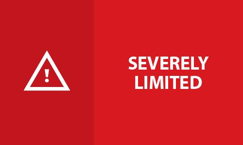 Alert Level Red - Severely Limited alt