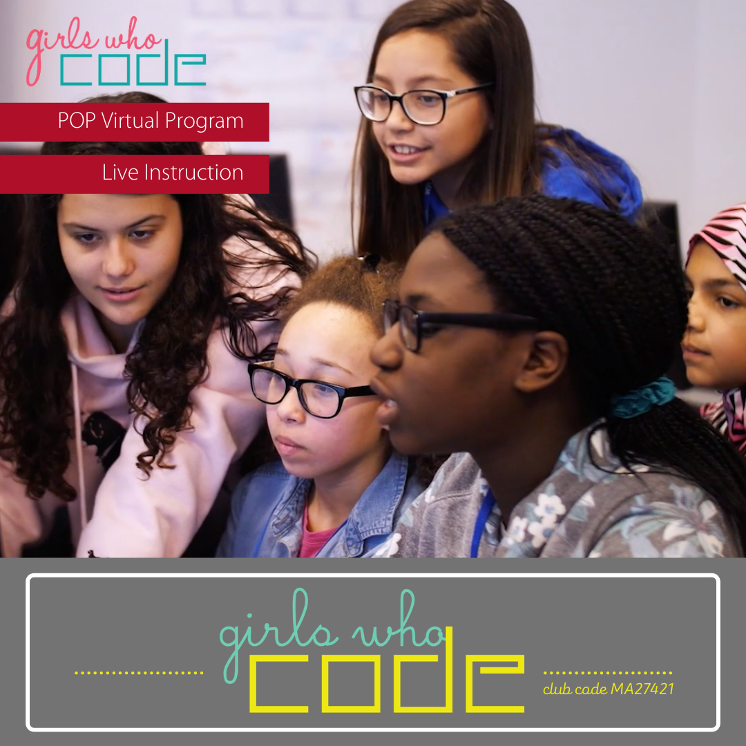 girls coding on the computer