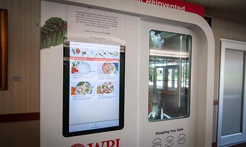 WPI salad robot