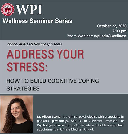 Dr. Alison Stoner, speaker, Address Your Stress