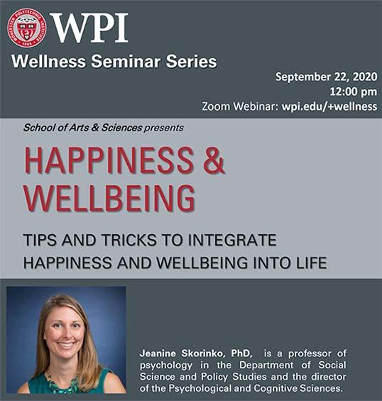 Jeanine Skorinko, speaker, Happiness & Wellbeing