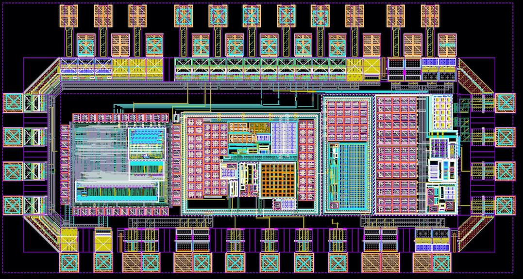 Chip for the oxygen sensor