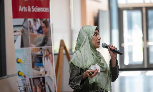 Speaker at Arts & Sciences Week