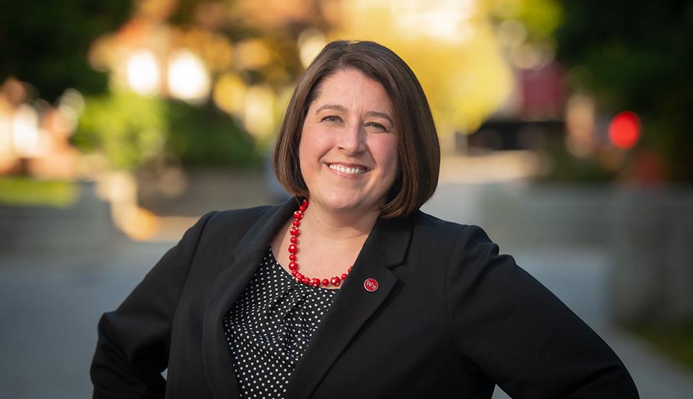 Associate Dean of Students Emily Perlow alt