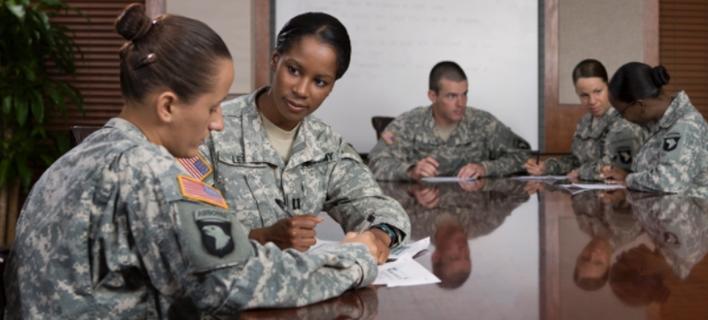 Adjutant General officers are experts in personnel management. alt