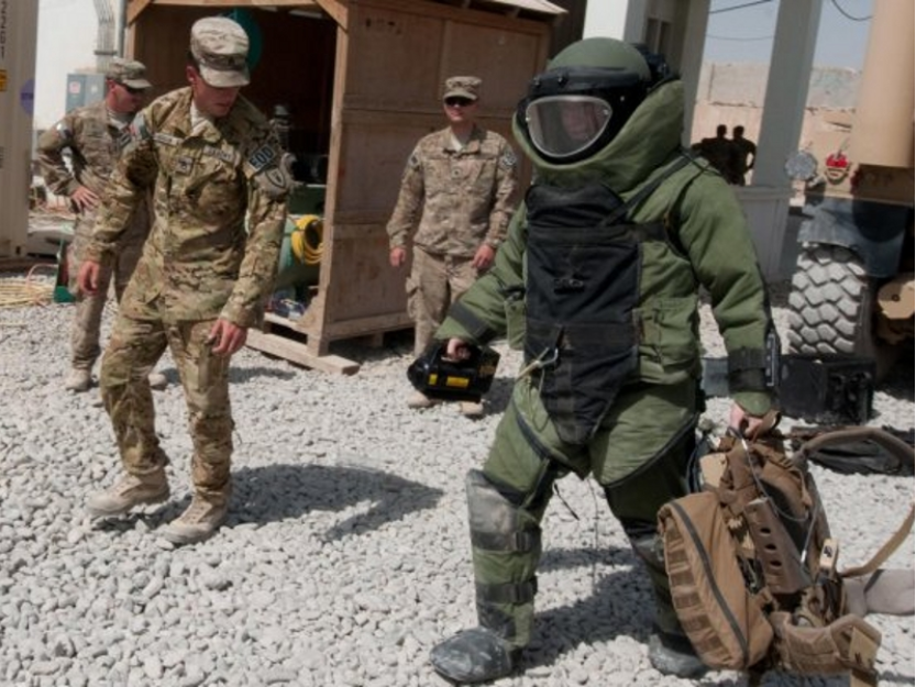 Ordnance Corps is the Army's tactical and technical munitions specialists. alt