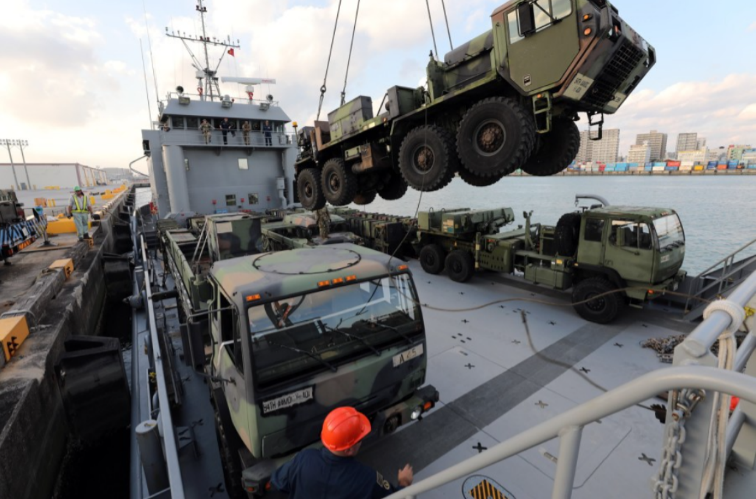 Transportation Corps expedites heavy equipment to support combat teams across the globe. alt