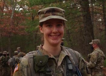 ROTC Cadet Hope Soucy alt