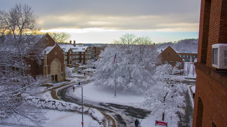 WPI with snow