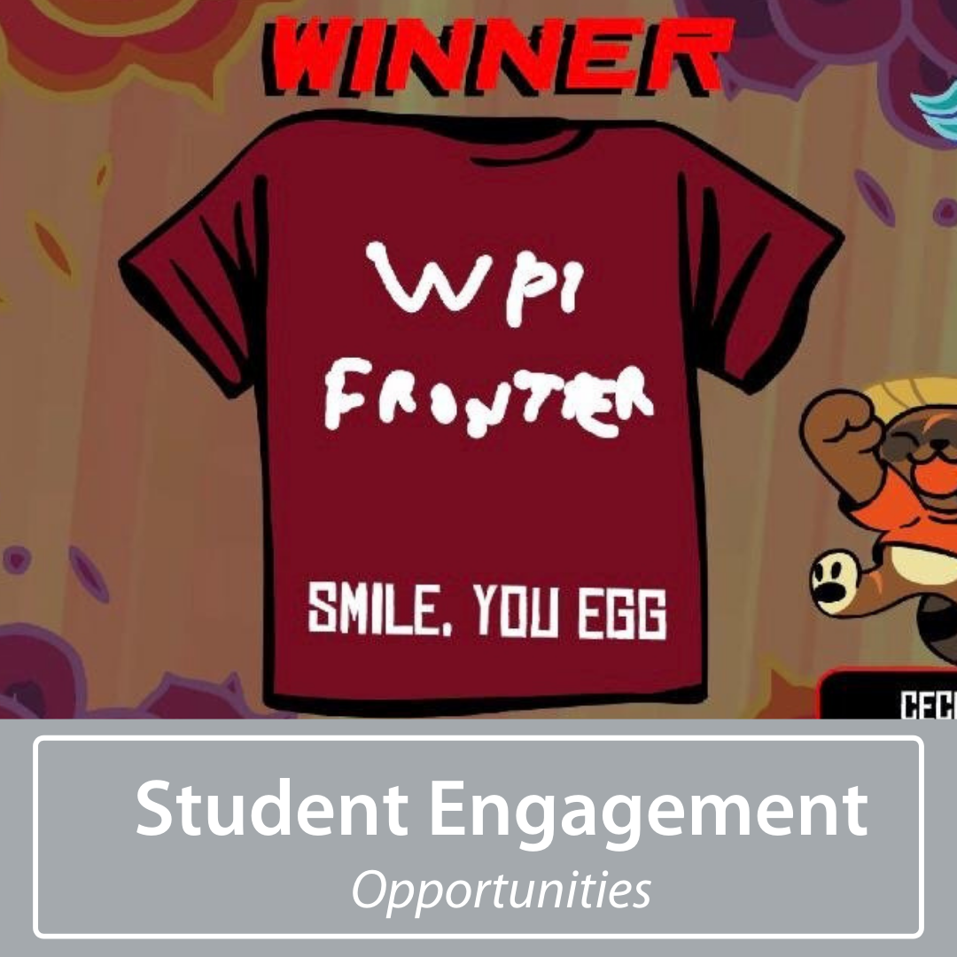 wpi frontier shirt created on online game