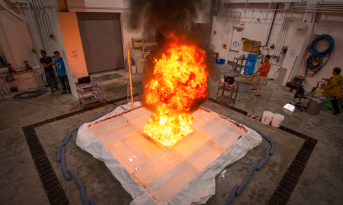 Fire Protection Engineering testing