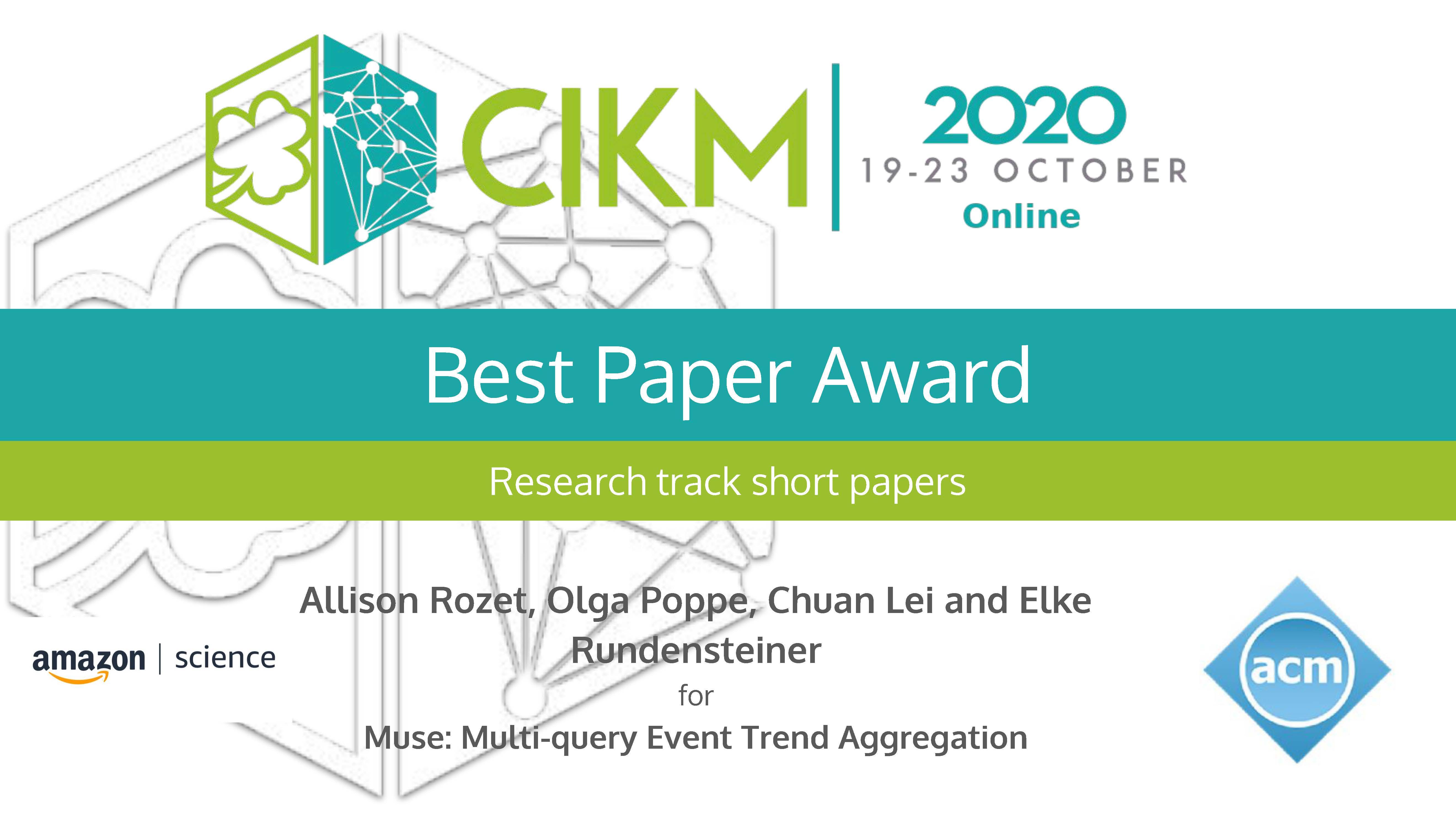 CIKM Award alt