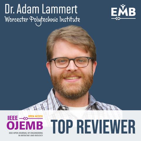 OJEMB top reviewer - Adam Lammert