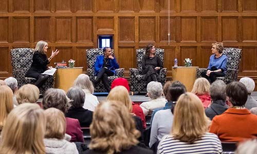 Panel at Women Authors Evening