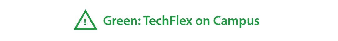 WPI campus alert status tech flex green