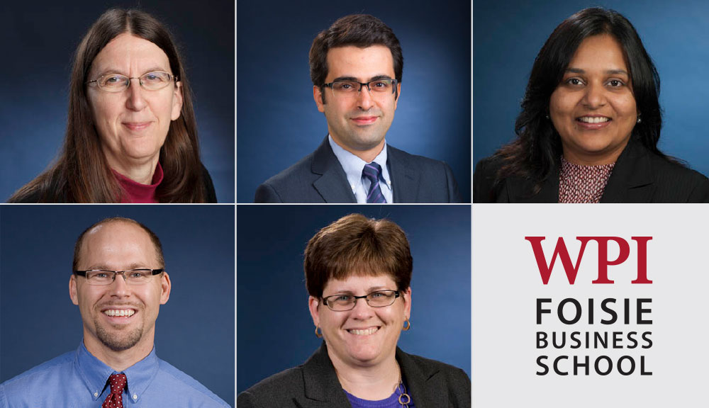 Foisie School of Business Faculty Recognized by Chief Data Officer magazine